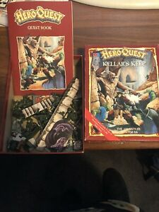 HeroQuest Kellar's Keep expansion complete