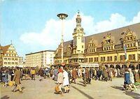 B34384 Messestadt Leipzig Altes Rathaus und Alte Weage am Markt   germany