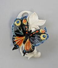 Porzellan Wandvase Schmetterling schwarz Ens H16cm 9941283
