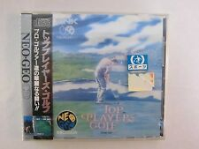Neo Geo CD --  TOP PLAYER'S GOLF -- New & Sealed!! JAPAN GAME. SNK. 14369