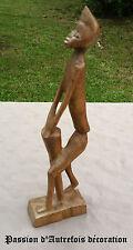 B20120750 - Statuette Africaine en bois en très bon état