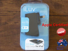 iLuv USB AC Power Wall Charger for Apple iPhone iPod & iPad NEW
