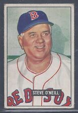 1951 Bowman #201 Steve O'Neill Manager Boston Red Sox EX