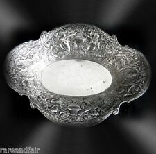 Webster and Son silver over copper decorative bowl - ca 1928 -