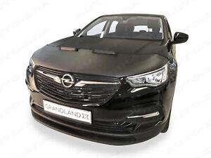 Bonnet BRA für Opel Grandland X Steinschlagschutz Haubenbra Tuning Haubenschutz