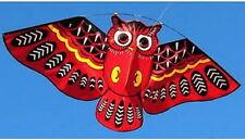 Besra Huge 45'' Nylon Red Owl Kite New