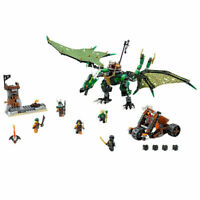 Ninjago The Green NRG Dragon (70593)618 Pcs Building Blocks Bricks Model Ninja