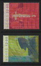 Norway Stamps 2004 SG 1542-1543 Birth of King Håkon IV Fine Used