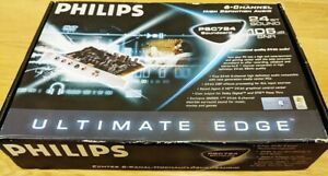 Genuine Phillips PSC724 PCI Sound Card 6 Channel High quality HD 24 Bit