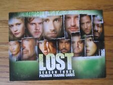 Lost season 3 Promo card L3-1 by Inkworks in 2007