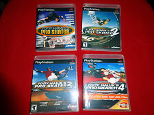 EMPTY Cases! Tony Hawk's Pro Skater Replacement Collection PLAYSTATION 1 2 3 PS1
