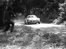 RENAULT ALPINE A110 ARKELL CIRENCESTER PARK STAGES RALLY PHOTOGRAPH  FNX971K
