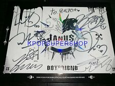 Boyfriend The First Album Janus Autographed Signed Promo CD Great Cond. RARE