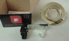 3x Flecha Roja Diecast Cardán Downlighter Baja Tensión LED/lámparas Halógenas dlfb: Latón