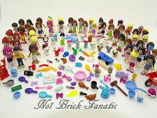 Lego Friends Accessories Pack 1 x Minifigure & 10 Random Parts / Animal / Pieces