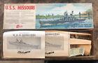 Vintage 1960's Sterling Models USS Missouri Battleship Wood RC Model Kit #B17M