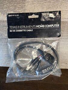 NOS Vintage TI-99/4A Home Computer PHA 2622 Single Cassette Cable