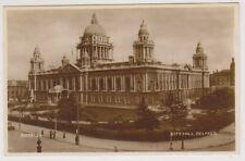 Northern Ireland postcard - City Hall, Belfast, Co. Antrim - RP (A54)