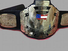 NEW REPLICA WCW UNITED STATES US CHAMPIONSHIP BELT IN 4 MM BRASS PLATES