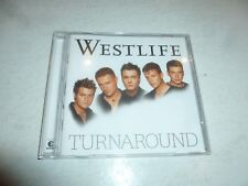 WESTLIFE - Turnaround - 2003 UK 13-track enhanced CD album