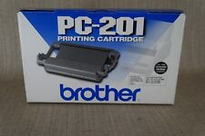Genuine Brother PC-201 Printing Toner Cartridge for Fax-1010 Fax-1170, New