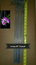 Orchid 4-way plant hangers 24' - ( 5 Pack )