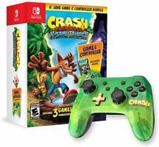 New Crash Bandicoot: N. Sane Trilogy Bundle Nintendo Switch Comes w Controller