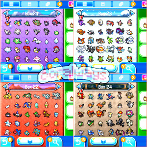 Pokemon Home - Complete  Gen 1-7  Collection