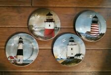 Lunch Plates By the Sea David Carter Brown Collection Lighthouses Sakura Oneida