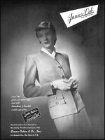 1946 Junior Deb originals Simon Cohen & Co NYC vintage photo Print Ad  ads15