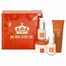 Borghese Facial Kit Fango Active Mud Eye Compresses Spa Lift Moisturizer SPF