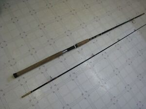 VINTAGE ST CROIX MODEL 1085 SALMON / STEELHEAD 2 PC,8'6 SPINNING ROD FIBERGLASS