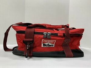 Vintage Marlboro Red Duffle Bag Unlimited Gear Gym Travel Luggage Camping NEW