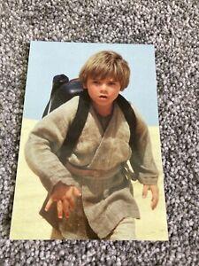 Star Wars Episode 1 Film Postcard Anakin Skywalker