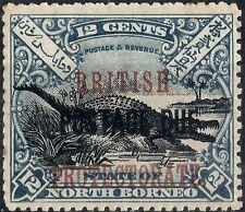 Mint Hinged Postage Due North Borneo Stamps