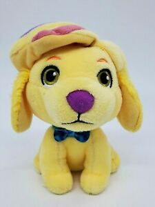 """6"""" Nickelodeon Fisher Price Puppy Dog Sunny Day Showdoodle Yellow Plush Toy B57"""