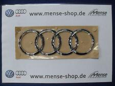 Original Audi A6 S6 RS6 4G AVANT Ringe Schriftzug Selbstklebend Hinten NEU OVP