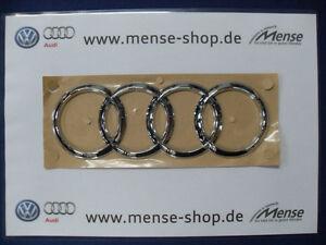 Audi Q5 A6 S6 RS6 4G Limousine Ringe Schriftzug Selbstklebend Hinten