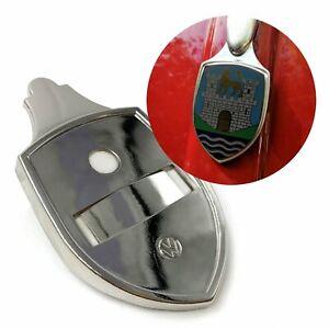 Hood Crest Badge Base Plate for Volkswagen Beetle Bug T1 1951-63 VW QUALITY