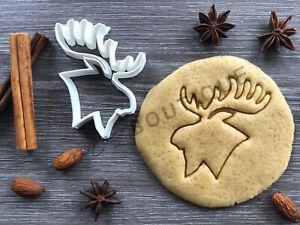 Moose Cookie Cutter | Fondant Cake Decorating | UK Seller
