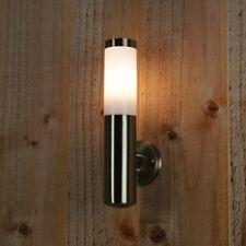 Lampada Applique Da Parete Interno Esterno In Acciaio Inox Inossidabile E27