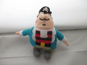 McDonald's Captain Pugwash Soft beanie Toy (2001)