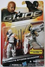 "ULTIMATE STORM SHADOW Cobra GI JOE Retaliation 2013 3.75"" INCH Action Figure"