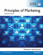 Principles of Marketing 16E by Philip Kotler, Gary Armstrong 16th