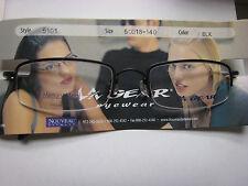 LA GEAR  EYEGLASS FRAMES Style   5101  BLACK  50-18-140