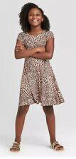 Girls' Leopard Print Skater Dress - art class™ from Target