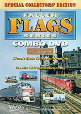 Fallen Flags Series Combo DVD Pentrex Twin Cities Burlington Northern Chicago