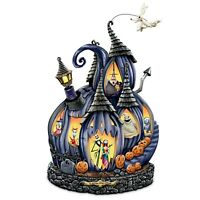 Bradford Exchange Nightmare Before Christmas Masterpiece Pumpkin Tim Burton NEW
