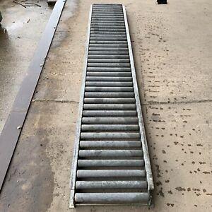 10ft Gravity Roller Conveyer MIL-C-11218 Steel