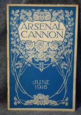 1918 Arsenal Technical Tech High School Indianapolis Cannon Yearbook